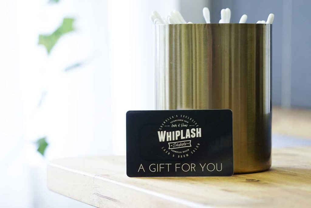 Whip-Lash giftcard